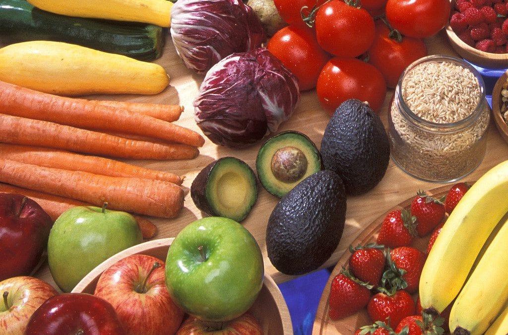 fruits vegetables vitamins